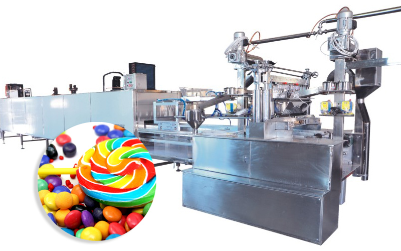 Shaped Lollipop Production Line